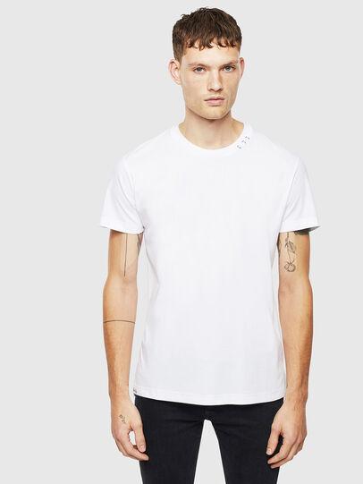 Diesel - T-GROSSI, Bianco - T-Shirts - Image 1
