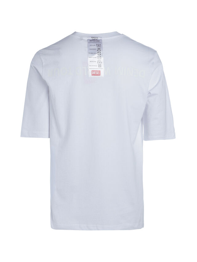 Diesel - SOTO01, Bianco - T-Shirts - Image 3