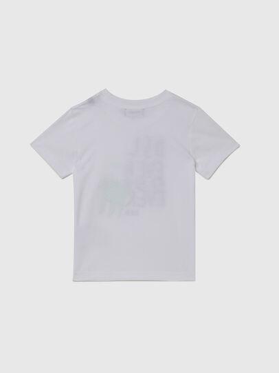 Diesel - TORTUB-R, Bianco - T-shirts e Tops - Image 2