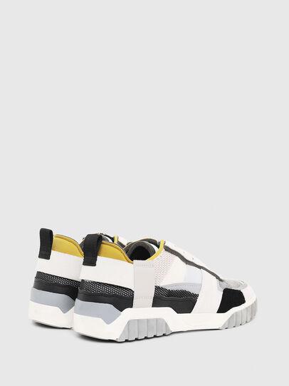 Diesel - S-RUA LOW DEC, Bianco - Sneakers - Image 3