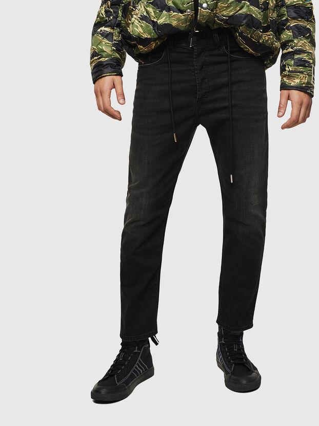 D-Eetar 069BG, Nero/Grigio scuro - Jeans