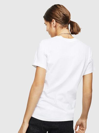 Diesel - T-SILY-ZC, Bianco - T-Shirts - Image 2