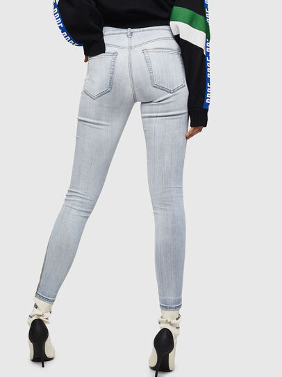 Diesel - Slandy 0090E, Blu Chiaro - Jeans - Image 2