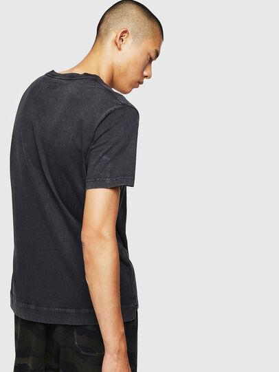 Diesel - T-THEA, Nero - T-Shirts - Image 2