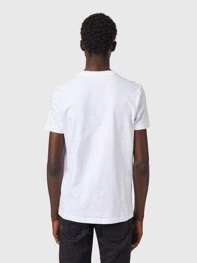 Diesel - T-DIEGOS-B82, Bianco - T-Shirts - Image 2