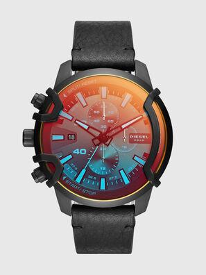 negozio online 34e87 06357 Orologio cronografo Griffed con cinturino in pelle nera