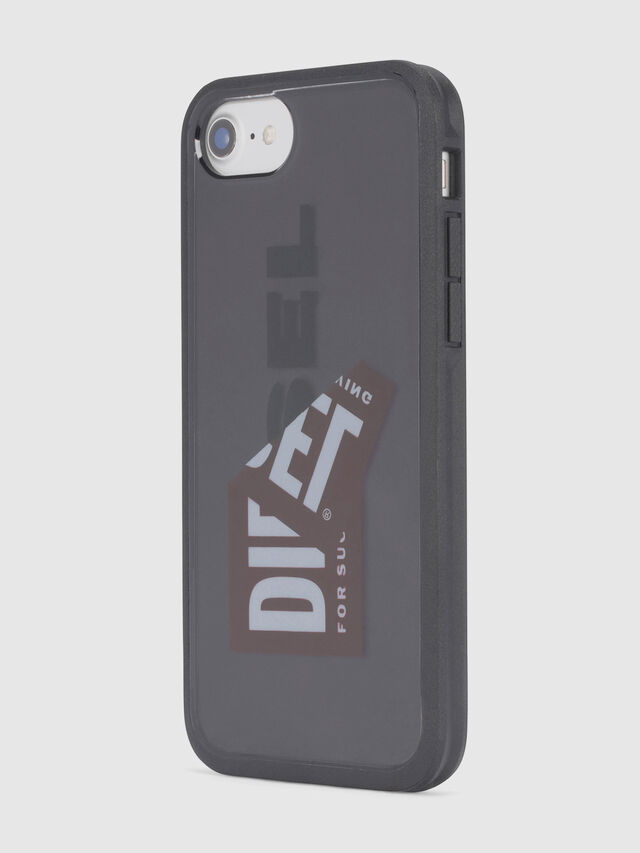 Diesel - STICKER IPHONE 8/7/6S/6 CASE, Nero - Cover - Image 4