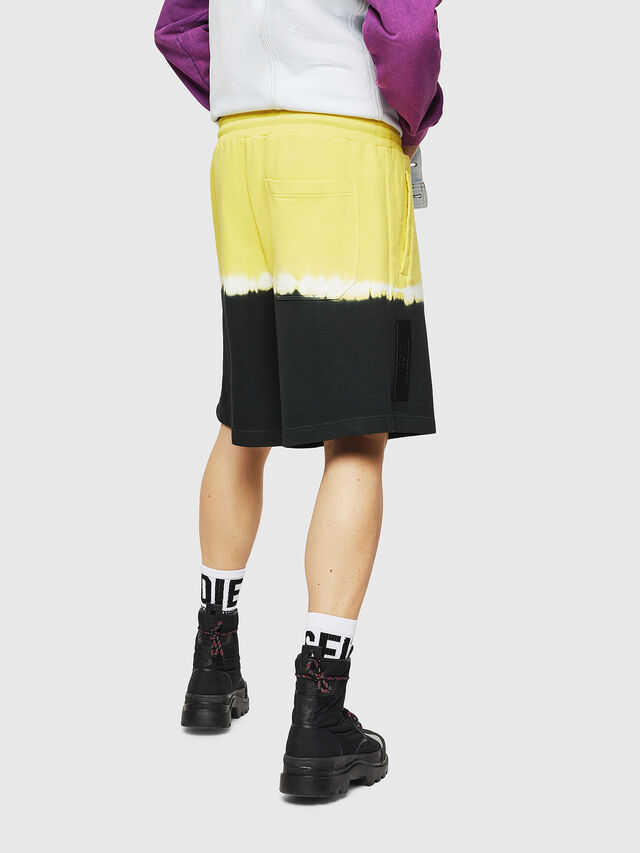 Diesel - P-TOX-DEEP, Nero/Giallo - Shorts - Image 2