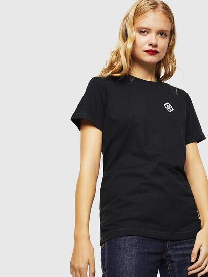 Diesel - CC-T-DIEGO-COLA, Nero - T-Shirts - Image 3