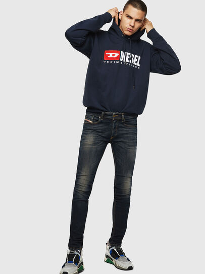 Diesel - Sleenker 069FX, Blu Scuro - Jeans - Image 5