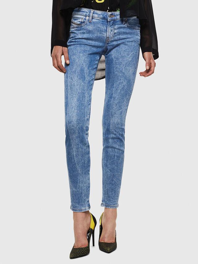Diesel - Gracey JoggJeans 0870P, Blu Chiaro - Jeans - Image 1