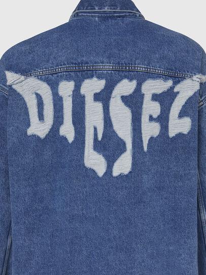 Diesel - D-RAF, Blu medio - Giacche in denim - Image 5