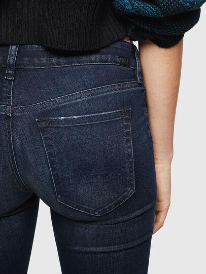 Diesel - Slandy Low 0870C, Blu Scuro - Jeans - Image 4