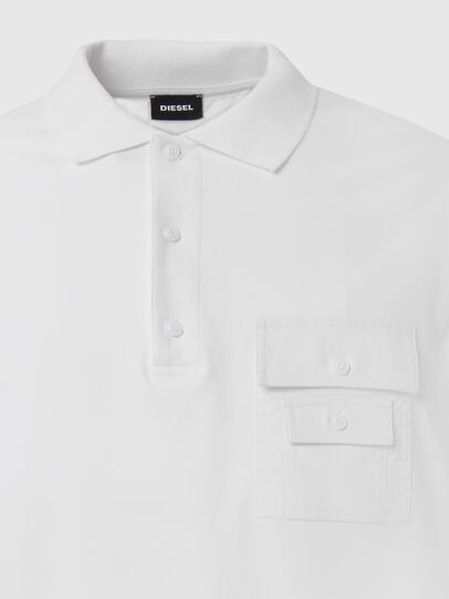 Diesel - T-TASK-POLO, Bianco - Polo - Image 3