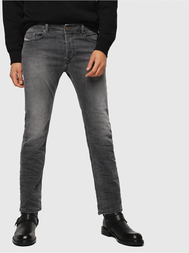 Diesel - Waykee 0662U, Nero/Grigio scuro - Jeans - Image 1