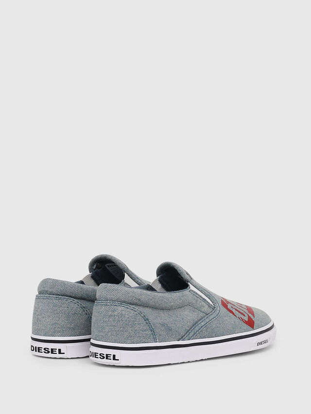 Diesel - SLIP ON 21 DENIM YO, Blu Jeans - Scarpe - Image 3