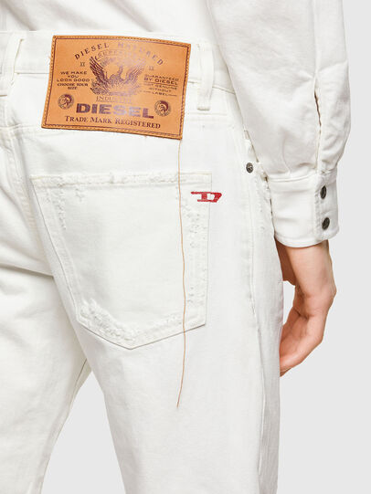 Diesel - D-Kras 0HBAJ, Bianco - Jeans - Image 4