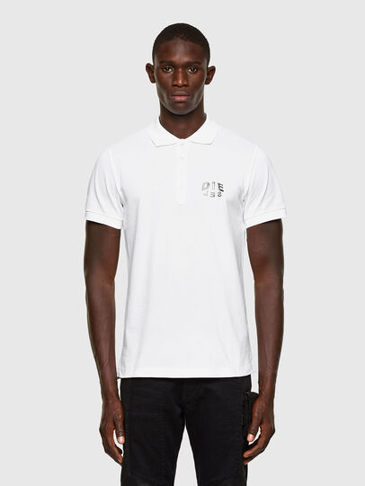 Diesel - T-RANDY-NEW-A2, Bianco - Polo - Image 1