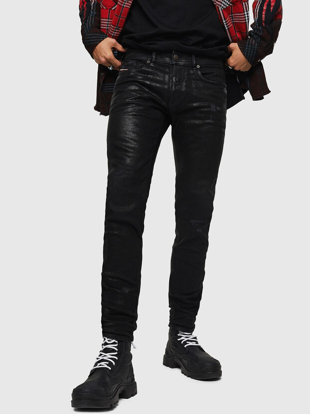 Sleenker 0091F, Nero/Grigio scuro - Jeans
