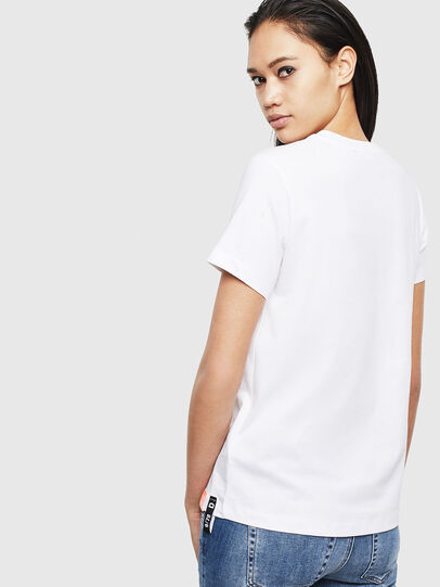 Diesel - T-SILY-S8, Bianco - T-Shirts - Image 2
