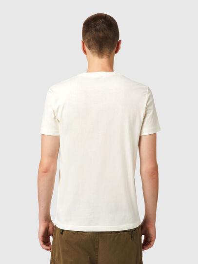 Diesel - T-DIEGOS-B10, Bianco - T-Shirts - Image 2