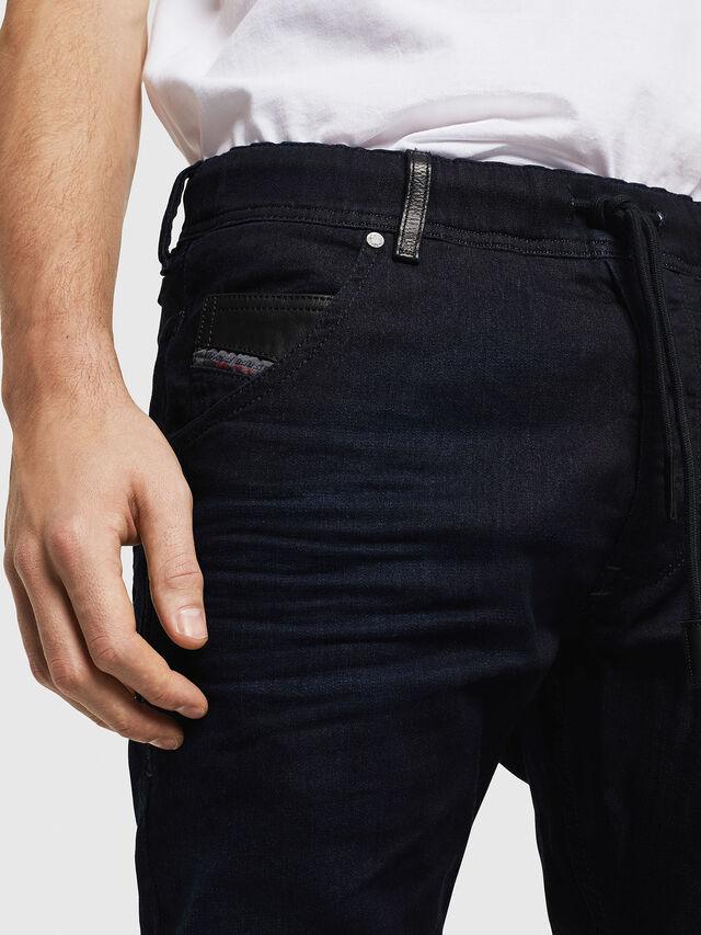 Diesel - Krooley JoggJeans 0829P, Blu Scuro - Jeans - Image 3