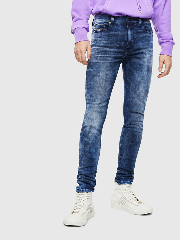 D-Amny 0096Q, Blu medio - Jeans