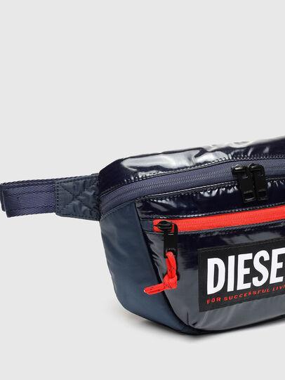 Diesel - LOKI PAT, Blu - Borse a tracolla - Image 4