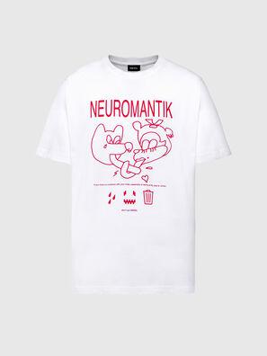 T-TUBOLAR-N1, Bianco - T-Shirts