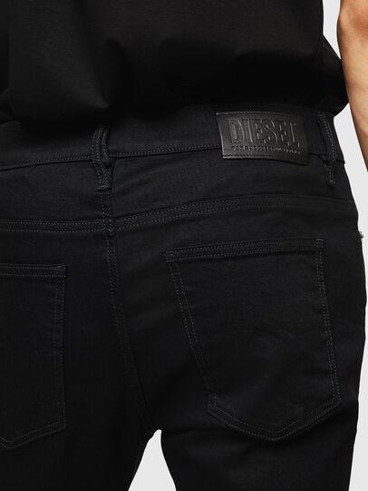 Diesel - D-Istort 069EF, Nero/Grigio scuro - Jeans - Image 3