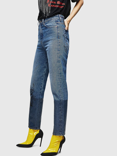Diesel - D-Eiselle 0078T, Blu Chiaro - Jeans - Image 3