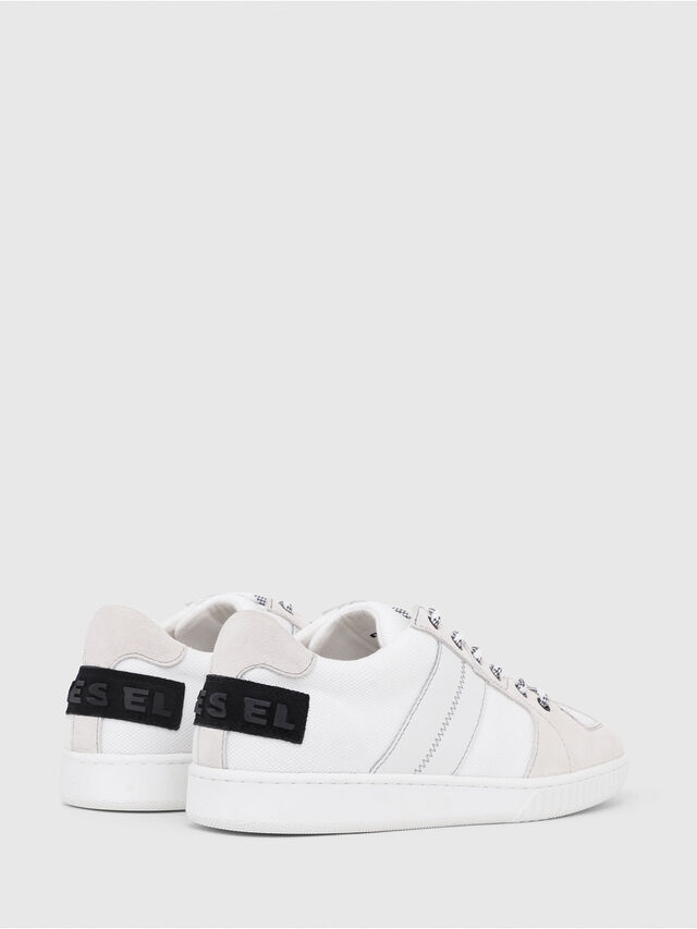 Diesel - S-MILLENIUM LC, Bianco/Rosa - Sneakers - Image 3