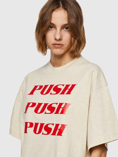 Diesel - T-BOWXY, Bianco - T-Shirts - Image 3