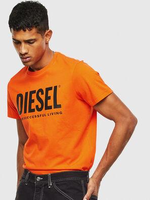 T-DIEGO-LOGO, Arancione - T-Shirts
