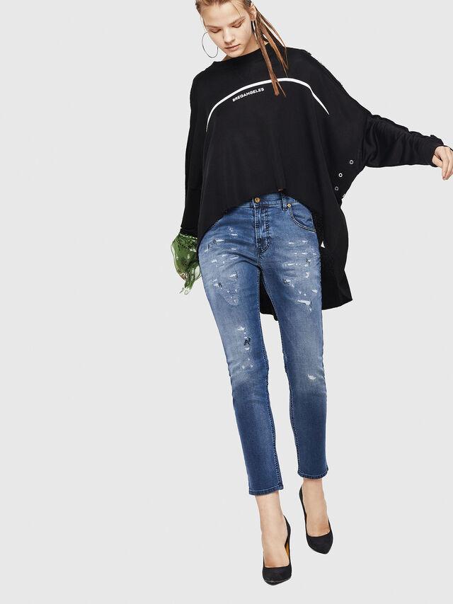 Diesel - Krailey JoggJeans 069HA, Blu medio - Jeans - Image 6