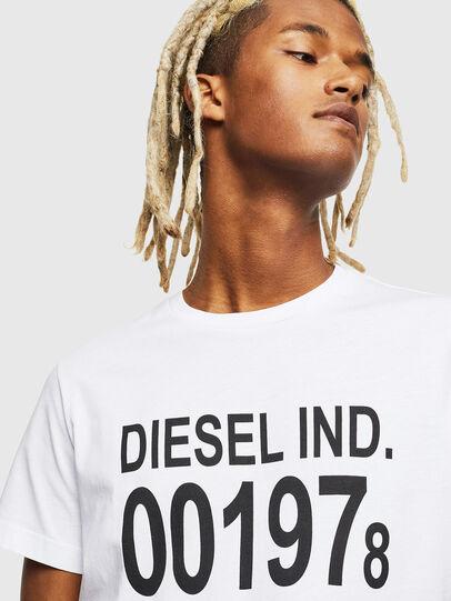 Diesel - T-DIEGO-001978, Bianco - T-Shirts - Image 4