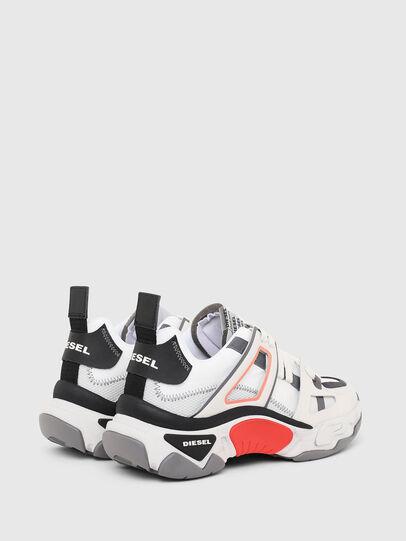 Diesel - S-KIPPER LOW TREK II, Bianco - Sneakers - Image 3