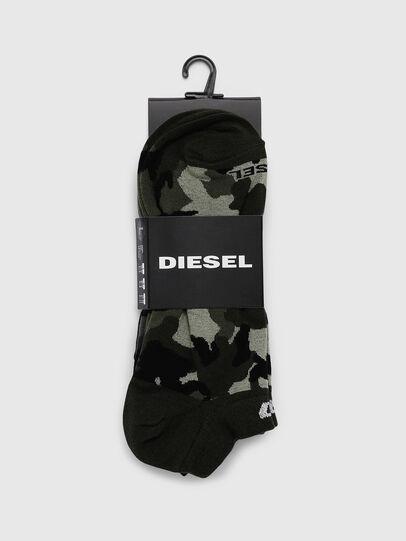 Diesel - SKM-GOST-THREEPACK, Grigio scuro - Calzini - Image 2