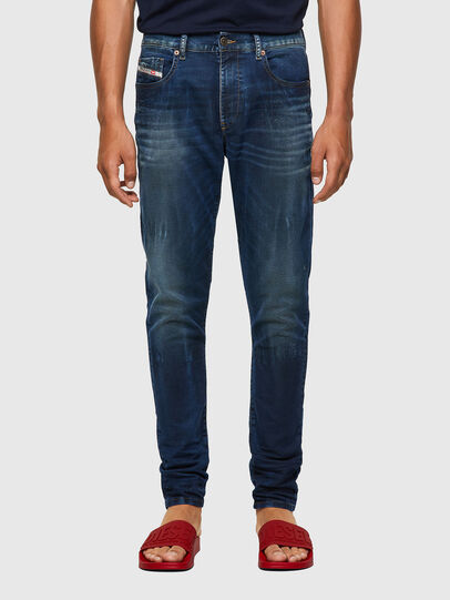 Diesel - D-Strukt JoggJeans® 069WR, Blu Scuro - Jeans - Image 1