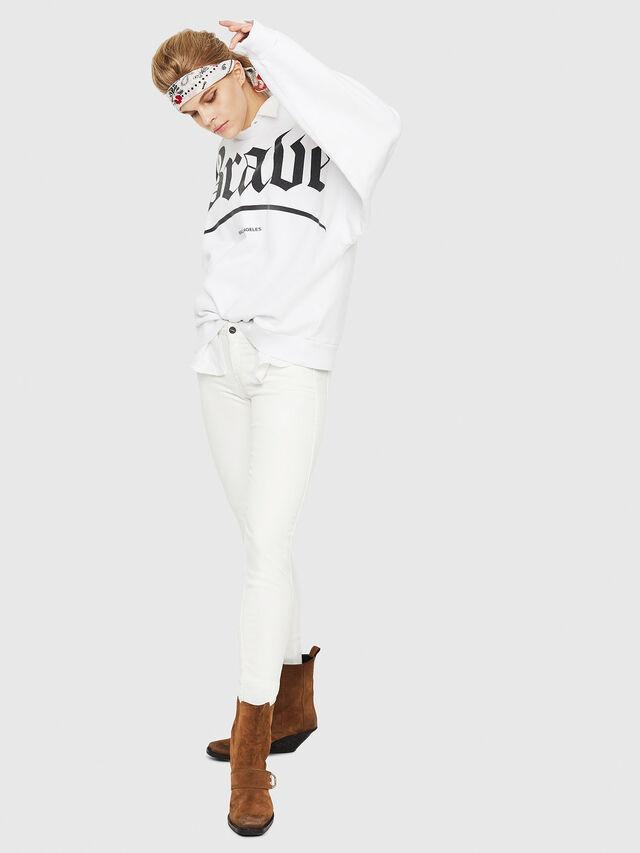 Diesel - Gracey JoggJeans 088AZ, Bianco - Jeans - Image 5