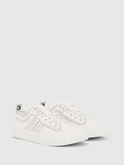 Diesel - S-ASTICO LOW LACE W, Bianco - Sneakers - Image 2