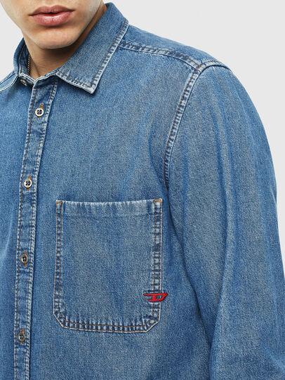 Diesel - D-BER-P, Blu Jeans - Camicie in Denim - Image 3