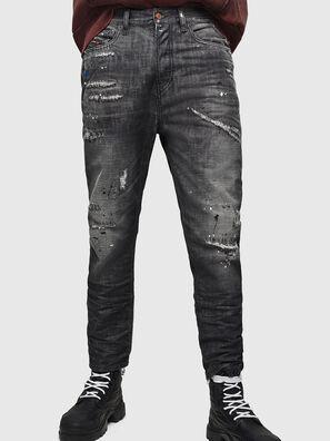 D-Vider 083AB, Nero/Grigio scuro - Jeans