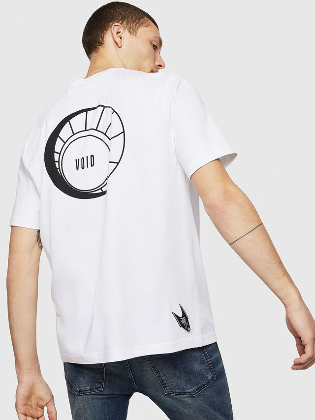 Diesel - T-JUST-A8, Bianco - T-Shirts - Image 2