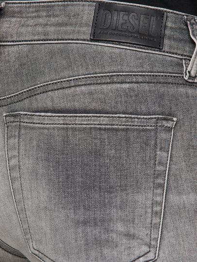 Diesel - Slandy Low 009FD, Grigio Chiaro - Jeans - Image 4