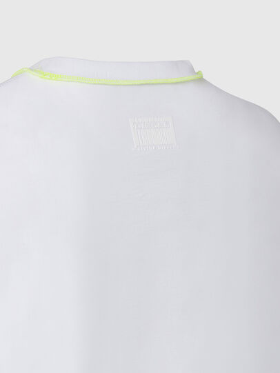 Diesel - T-JUSEAM, Bianco - T-Shirts - Image 4