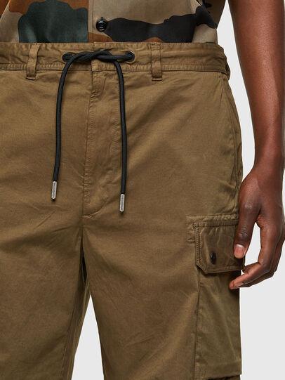 Diesel - P-APE, Verde Militare - Shorts - Image 3