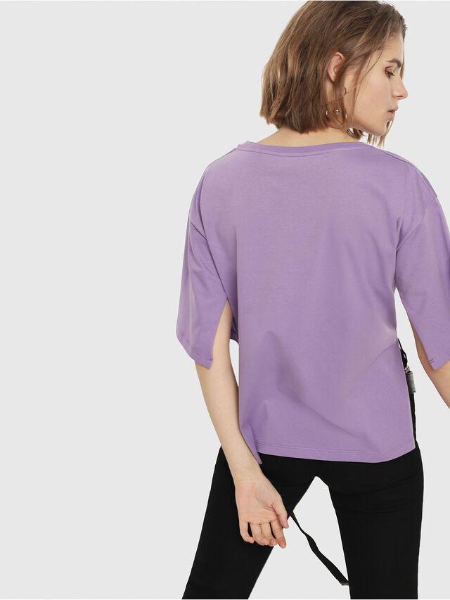 Diesel - T-JACKY-D, Lilla - T-Shirts - Image 2