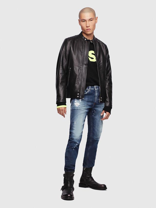 Diesel - Thommer JoggJeans 087AK, Blu Scuro - Jeans - Image 4