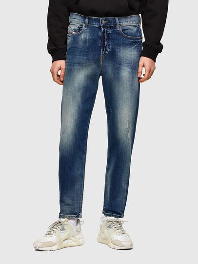 Diesel - D-Vider 009RS, Blu Scuro - Jeans - Image 1